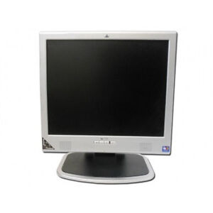 """17 """" hp monitor with cables"""