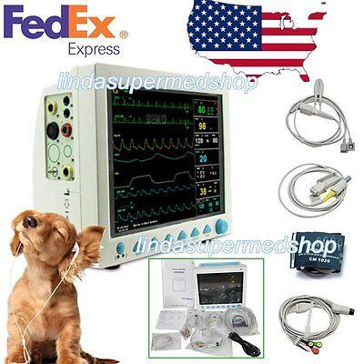 Contec Veterinary Icu Vital Signs Patient Monitor 6 Parameters Ce Fda Cms8000 Us