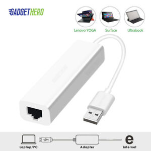USB 2.0 Ethernet Adapter USB to RJ45 10/100Mbps LAN Network Converter Adapter