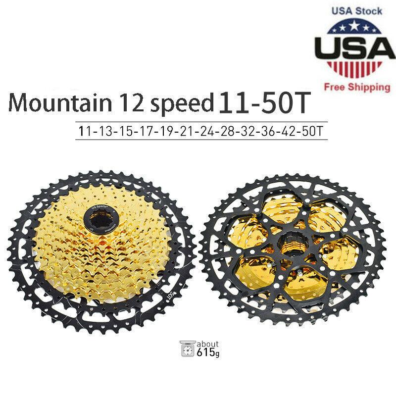 9/10/11/12 Speed MTB Bike Cassette Seperate Freewheel Bracket Sprocket 11-50T