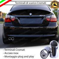 Terminale di Scarico 2x76 S per BMW SERIE 3 RESTYLING E46