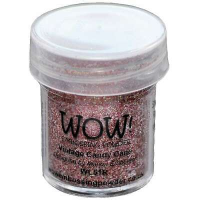 WOW! Embossing Powder 15ml Vintage Candy Cane 499993178429