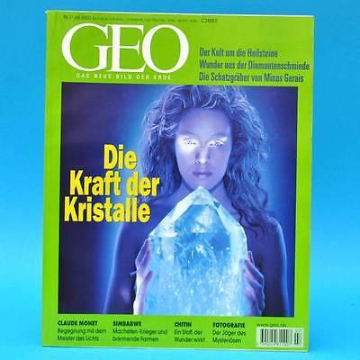 GEO Magazin 7/2000 Chitin Claude Monet Kristalle Simbabwe Naturfotografie