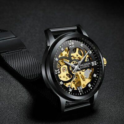 Best New Royal Skeleton Men's Automatic Mechanical Wrist