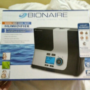 BIONAIRE Warm and Cool Mist HUMIDIFIER
