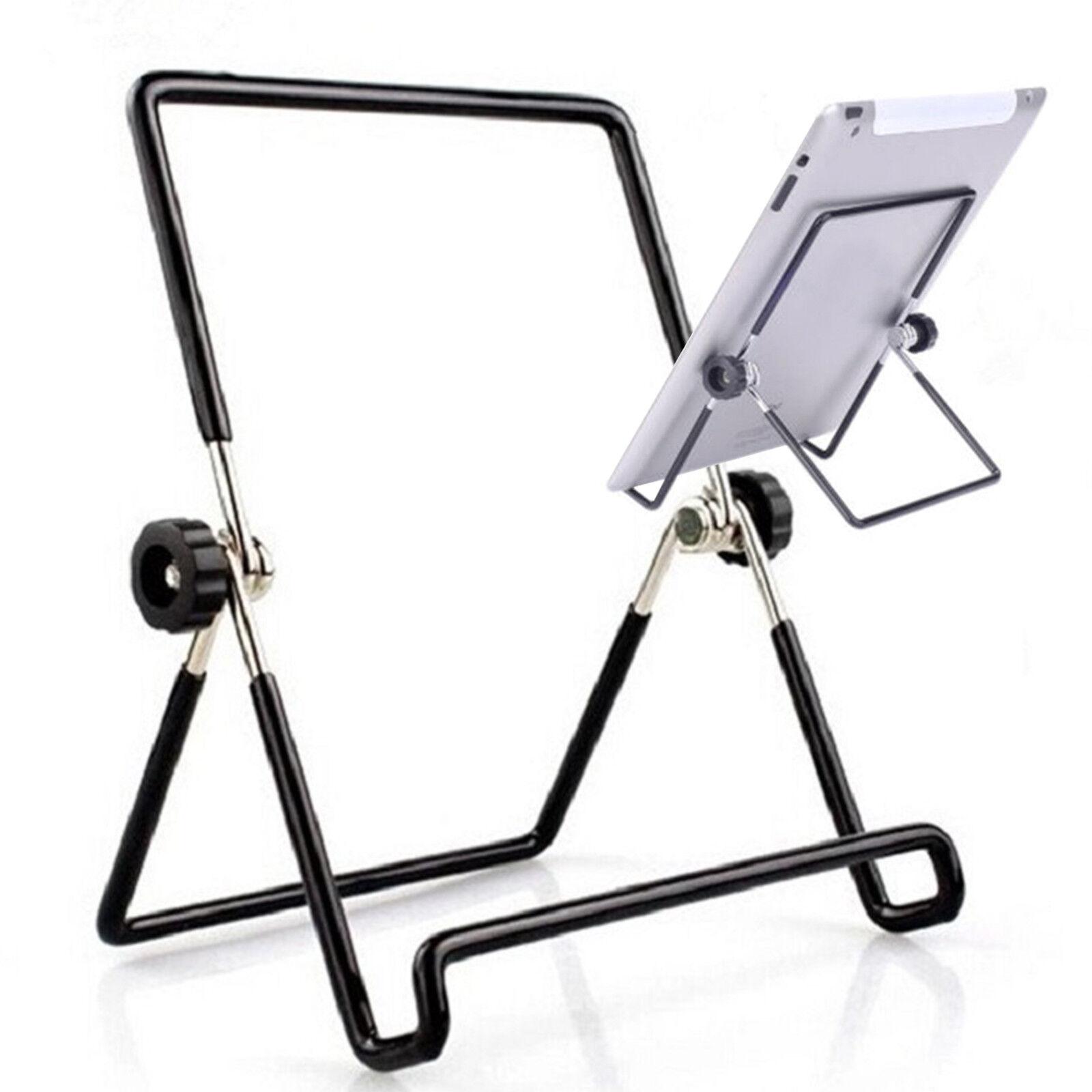 Adjustable Aluminum Multi-Angle Holder Stand Mount Ipad Tablet Book Read CQ1864