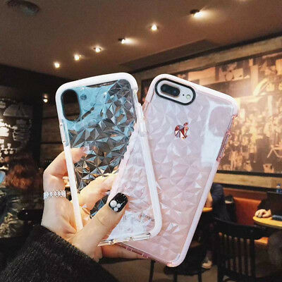 For iPhone 8 7 6 Plus XS Max XR Luxury Shockproof Silicone Protective Case Cover