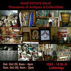Huge Estate sale Lethbridge  Oct 29 ,30