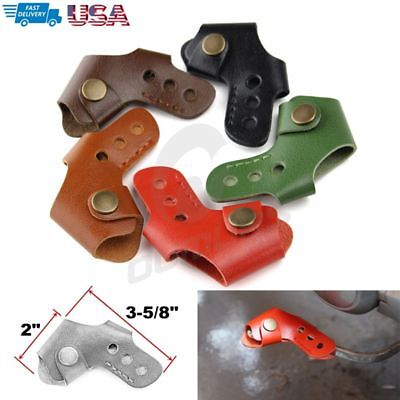 Universal Motorcycle Accessories Leather Gear Shift Sock Peg Cover Protector (Atk Accessories)