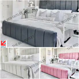 🌟NEW LUXURY PLUSH BED FRAMES ON SALE ✅DOUBLE KING S.KING SIZE UK MADE