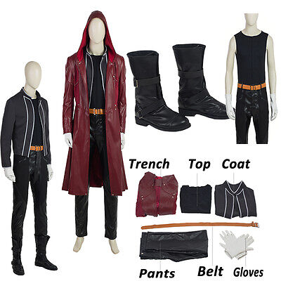 Fullmetal Alchemist Edward Elric Cosplay Costume Custom Made Halloween Clothes ](Fullmetal Alchemist Halloween Costumes)