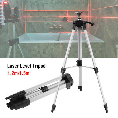 Aluminum Adjustable Level (Aluminum Alloy Tripod Adjustable Level Stand For Laser Level Measuring Tools US )