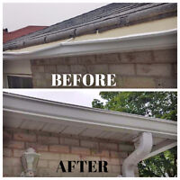 Eavestrough - Low Price, 25% off Summer Special 647-767-9613