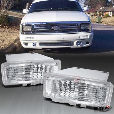 1994-1997 Chevy S10 Pickup / Blazer Bumper Lamps Lights