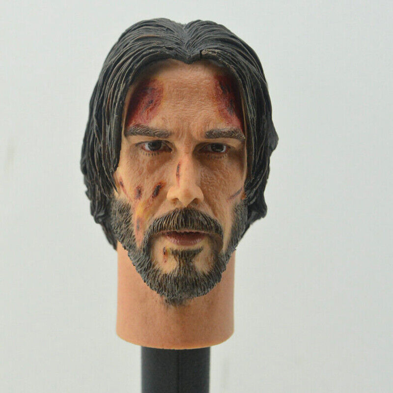 MGTOYS The Top Killer Keanu Reeves Head Sculpt Fit 1//6 Action Figure Model Hot