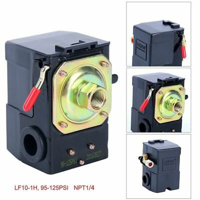 Air Compressor Pressure Switch 95-125 Psi Lefoo Pressure Control Us Free Ship