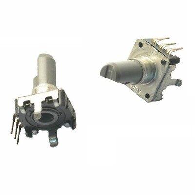 1pcs Rotary Encoder With Switch Ec12 Audio Digital Potentiometer 15mm Handle