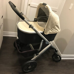 2015 UPPAbaby VISTA Stroller, Lindsey (Wheat) colour