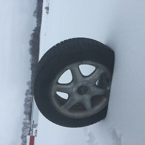 Volvo rims 15 W/h snow tires