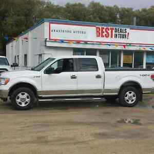 2011 Ford F-150 XLT 4x4 Supercrew 6.5 foot box