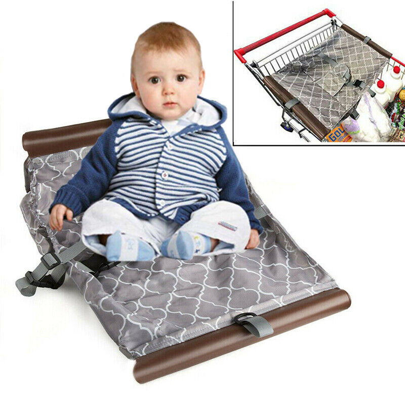 Portable Safety Baby Cart Shopping Hammock Toddler Infant Seat Carrier Portable