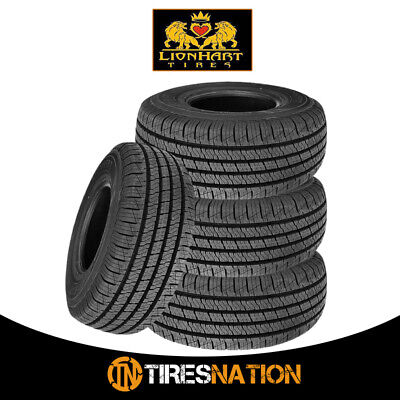 (4) New Lionhart Lionclaw HT 235/65R17 103T Crossover/ SUV Touring Tires