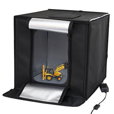 Mini-Studio LED Licht Zelt CUBE 50 Fotostudio-in-a-Box Foto-Lichtwürfel ()