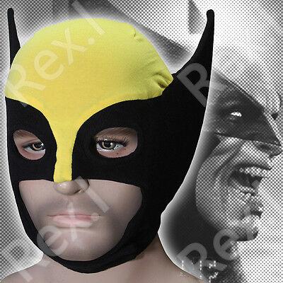 Wolverine - Marvel Comics X-men James Logan Howlett Mask Balaclava Cosplay - Wolverine Cosplay