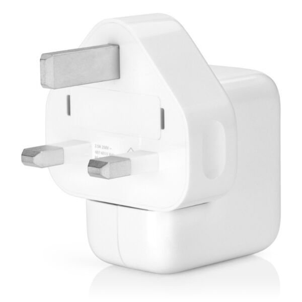 Genuine Original Apple 12W 2.5A USB Power Adapter charger.