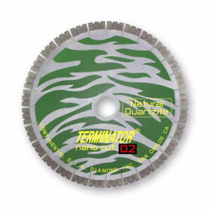 Terminator Q2 16'' Natural Quarzite Bridge Saw Blade (NEW)