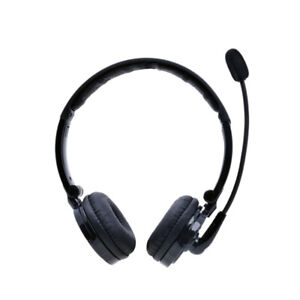 Bluetooth Stereo Headset with Noise Cancelling Boom Mic