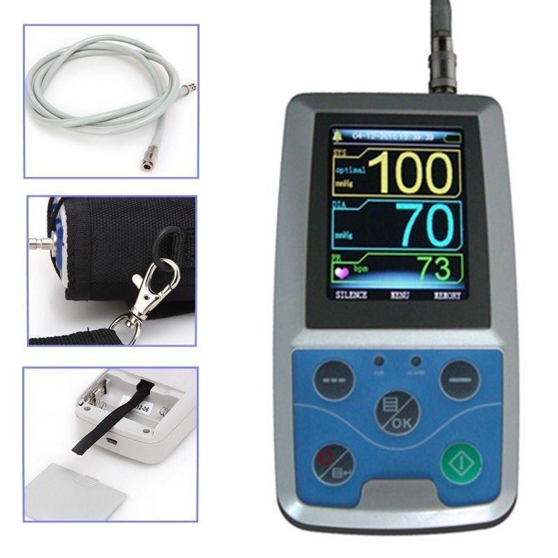 Ambulatory Blood Pressure Monitor+USB Software 24h NIBP Holt