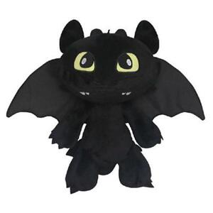 How to Train Your Dragon Plush Toothless Night Fury Soft Toy Doll Teddy 12