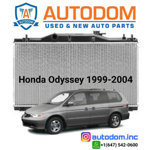 New Condenser and Radiator For Honda Odyssey 1999-2004