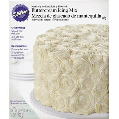 Buttercream Frosting Icing - Wilton Buttercream Icing Mix, 14 oz