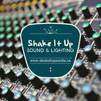 DJ Service - Shake It Up Sound&Lighting
