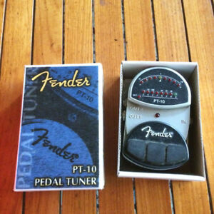 fender pt-8 chromatic tuner