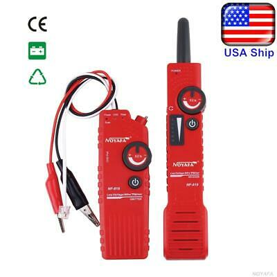 Us Ship Noyafa Nf-819 9v Voltage Underground Wire Tracker Line Finder Tester