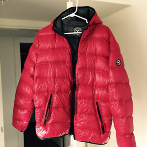 BRAND NEW Red Down Jacket XL