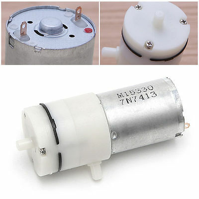 Dc 12v Electric Micro Vacuum Air Pump Booster For Medical Treatment Instrument