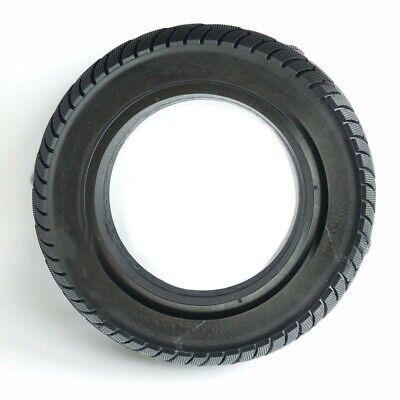 Caucho Negro Patinete Eléctrico Resistente Rueda 10X2.50 sin Aire Trasera Motor