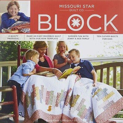 Quilt Magazine   Block   Summer 2016 Vol 3 Issue 3   Missouri Star Quilt Co