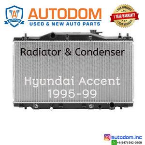 New Radiator Hyundai Accent 1995-99