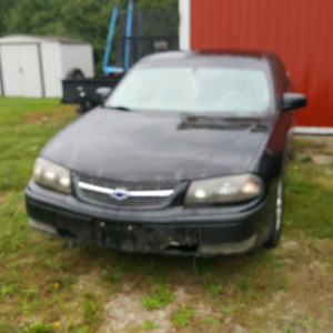 2003 Chevrolet impala LS  as is or for parts