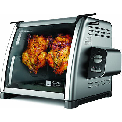 Ronco Stainless Steel Compact Rotisserie Oven, Countertop 5500 Showtime Series
