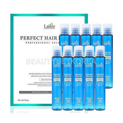 [LADOR] Perfect Hair Fill-Up 13ml * 10pcs / Protein Hair Ampoule