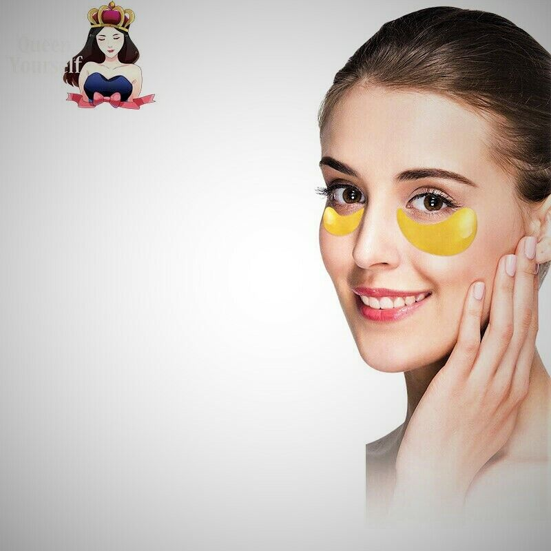 15 Paar Augenpads Collagen Crystal Gold Eye Pads Mask Anti Aging