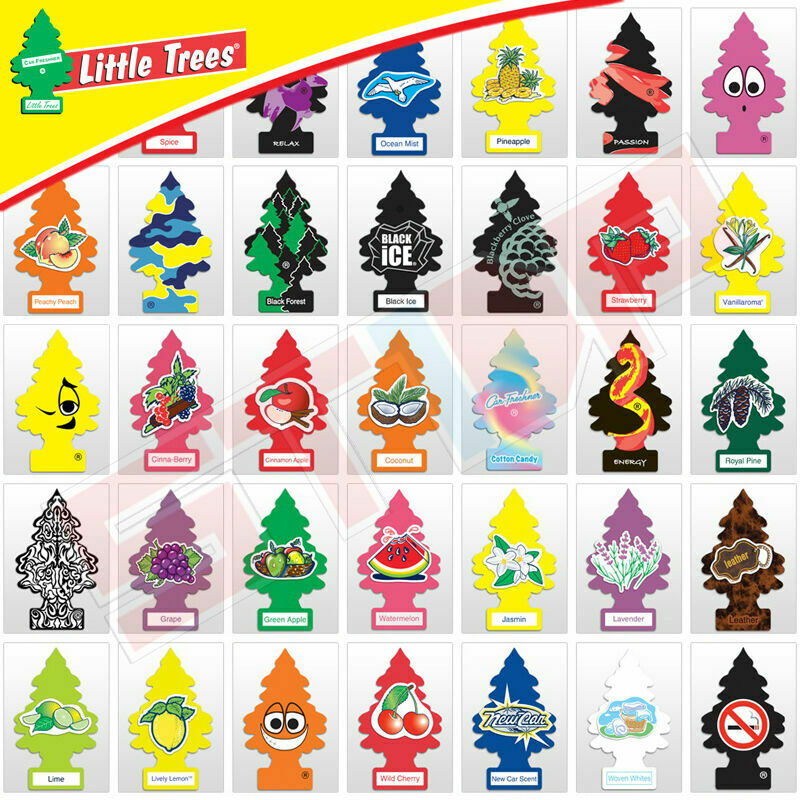 Little Trees Car Home Office Hanging Air Freshener  Buy 5 Ge