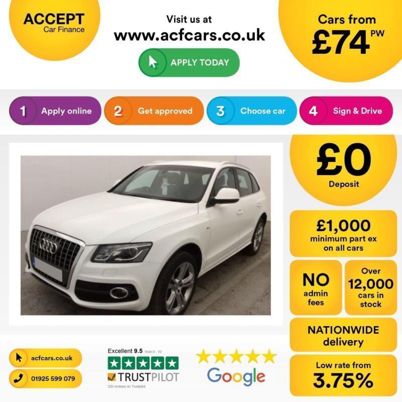 Audi Q5 FROM £74 PER WEEK!