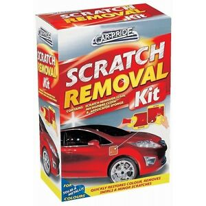 Scratch repair kit for furniture